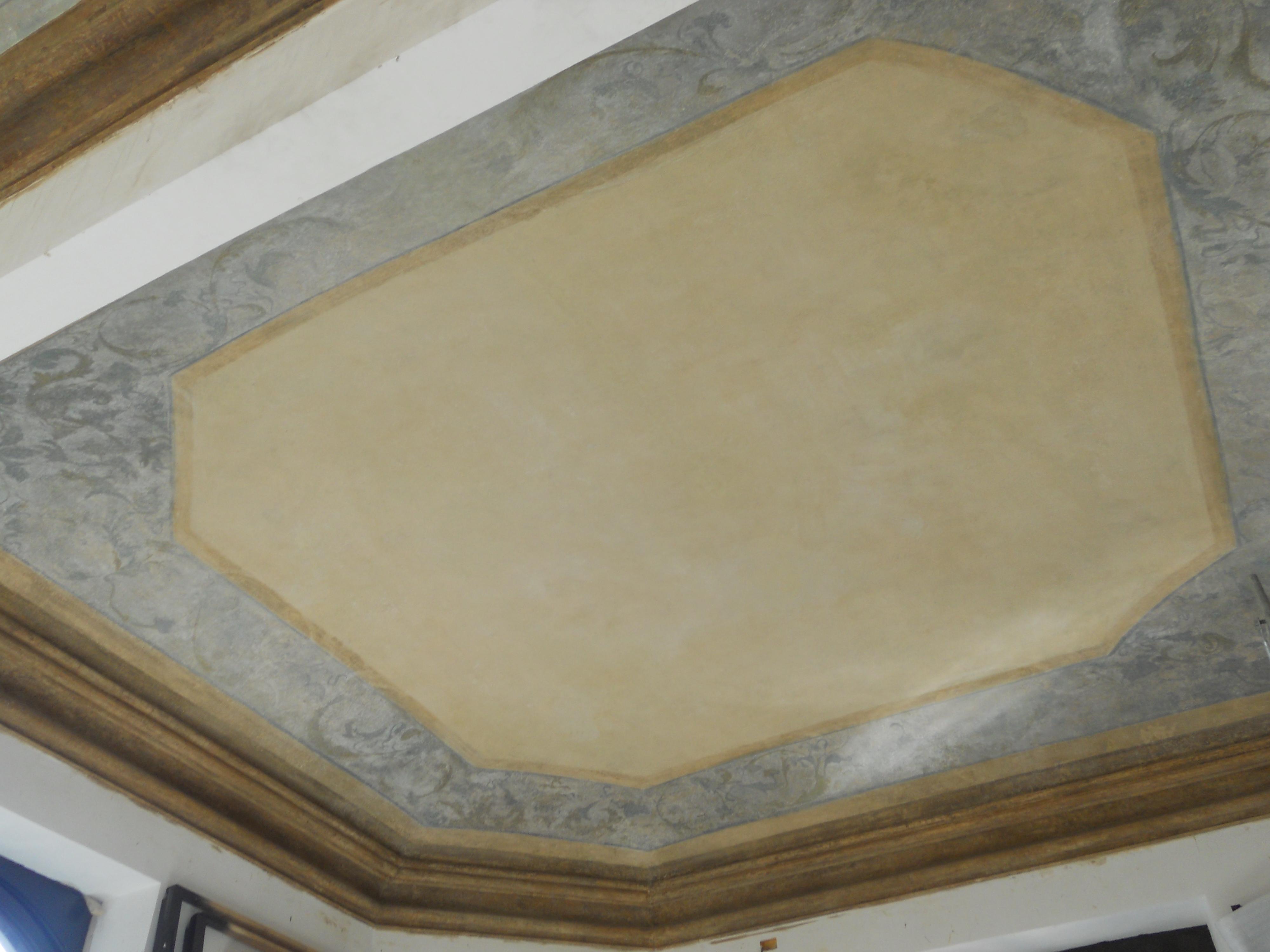 Restauro soffitti decorati villino raby torino f f - Soffitti decorati ...