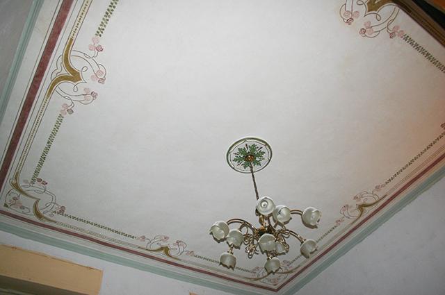 Restauro soffitti decorati abitazione privata torino - Soffitti decorati ...