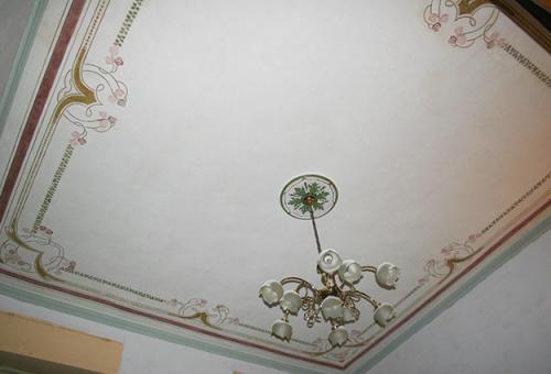 Soffitti decorati e lignei f f artedelrestauro - Soffitti decorati ...